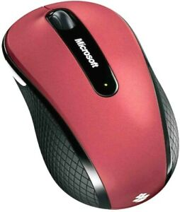 D5D-00038 Microsoft Wireless Mobile Mouse 4000 4 Buttons Tilt Wheel USB 2.0 RF
