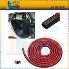 Big D-shape Rubber Seal Trim Molding Strip Auto Parts Car Door Bulb Anti-rub 4m