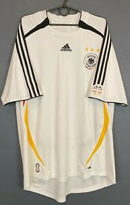 MEN'S ADIDAS GERMANY 2005/2006 DEUTSCHLAND SOCCER FOOTBALL SHIRT JERSEY SIZE 2XL