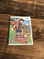 Mario Super Sluggers ( Nintendo Wii, 2008 ) - Brand New, Factory Sealed