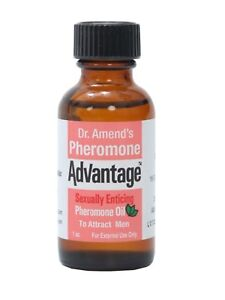 Dr Amend's Pheromone Advantage Sexually Enticing Unscented Oil to Attract Men