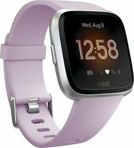 Fitbit Versa Lite Edition Smartwatch Lilac/Silver FB415SRLV
