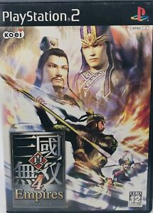 Sony PlayStation 2 PS2 Shin Sangoku Musou 4 Empires  Japan US Seller