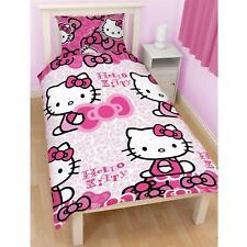 Hello Kitty Kiss Bedding Set Single Quilt Cover Set Pink Reversible Duvet Cover