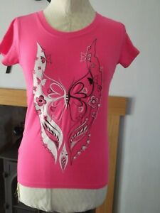 woman`s top  size s by cyberdog rave night club  in good condition
