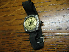 DIEL W. C. CO FLAPPER  LADIES  WATCH  25 YEAR WARRENTED  14 K GOLD FILLED
