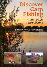CROW BOOK DISCOVER CARP FISHING TOTAL GUIDE TO CARP FISHING paperback BARGAIN