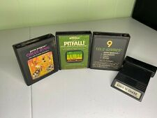 Tested & Working Atari Lot Circus Atari, Pitfall, TeleGames, Lock N Chase