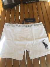 1 x Polo RALPH LAUREN  Cotton Men's Boxer White Black Navy Grey S M L XL