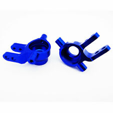 Traxxas Slash 4X4 1:10 Alloy Steering Block, Blue by Atomik - Replaces TRX 6837
