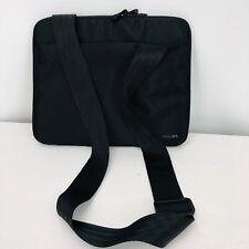 "Phillips Tablet 10"" Zip Case Removable Strap Black Outside Pockets"