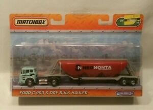 ☆ MATCHBOX super rigs convoy semi truck 18 wheeler FORD C-900 DRY BULK HAULER