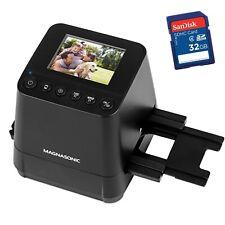 Magnasonic Slide & Film Scanner with bonus 32GB SD card
