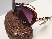 STEVE MADDEN Women's Sunglasses Brown Tone 100% UV Protection New