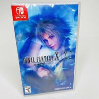 Final Fantasy X/X2 HD Remaster - Nintendo Switch Brand New Sealed
