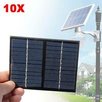 10X Mini 12V 1.5W Solar Power Panel Solar System DIY For Cell Phone Chargers ZH