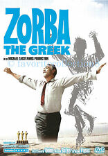 Zorba the Greek (1964) - Anthony Quinn, Alan Bates - DVD NEW