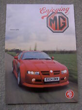 Enjoying MG (March 2005) MG SV-R, C Type Midget, MGA V6, Midget 1275, MG TF, MGB