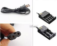 Charger Cable for Intellicharge i2 i4 Charger 18650 Li-ion/Ni-MH/Ni-Cd