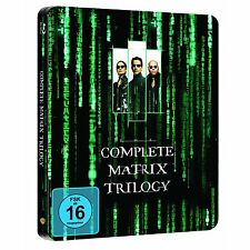 BLU-RAY  MATRIX TRILOGIE STEELBOOK (Complete Trilogy) - NEU & OVP