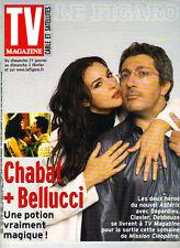 MONICA BELLUCCI CHABAT French Le Figaro TV Guide Magazine 1/26/02 HOT