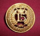 New Zealand 15 Northland Regiment WWI Original Pour Devoir For Duty Scarce Find