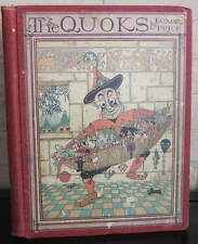 The Quoks. Luxor Price. 1924 surreal fantasy, color plates. first edition