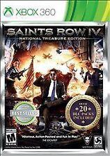 Saints Row IV 4 -- National Treasure Edition (Microsoft Xbox 360, 2014) NEW