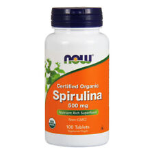 Spiruline, 500mg X 100 Comprimés - Now Foods
