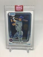 2019 Topps Archives Brando. Nimmo Buyback Autograph 2011 Fist Bowman Chrome
