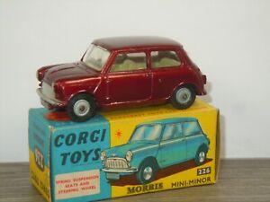Morris Mini Minor - Corgi Toys 226 England in Box *46025