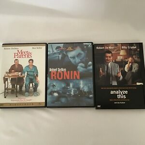 3 DVD Bundle Ronin, Meet The Parents and Analyze This