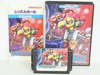 WRESTLE BALL Ref/ccc Mega Drive Sega Japan Game md