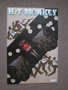 Marvel Comics Dave Johnson Hit Monkey Marvel Comics Superhero Poster 36 x 24