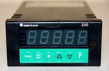 Gefran 230-si-c-1 temperaturreglerrech. & notorias. IVA. & manual de instrucciones