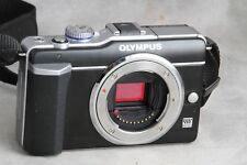 Olympus Pen E-PL1 Micro 4/3 Body, Low Count, Works Great