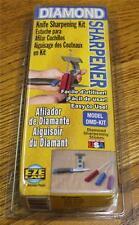 NEW EZE LAP Model DMD-KIT Diamond Knife Sharpening Sharpener Clamp and 3 Stones