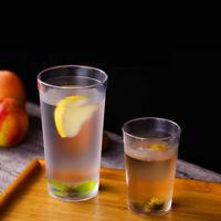 6pcs 16OZ Plastic Restaurant Tumbler Beverage Break Transparency Drink Cups Cafe