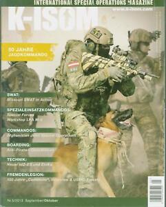 K-ISOM 5/2013 Spezialkräfte Magazin Kommando Bundeswehr Waffe Eliteeinheiten SWA