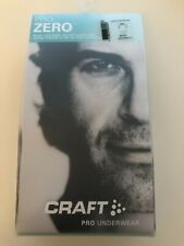 Men's Craft Pro Underwear Short Sleeve Base Layer Black XXL 2XL RRP £30