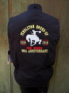 NWT Men's Walls Black Zero Zone Pendleton Round-Up 100th Anniversary Vest MD NEW