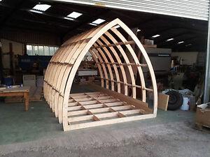 Glamping Pod Frame Kit, Garden Rooms, Office Framework 3.6m Long