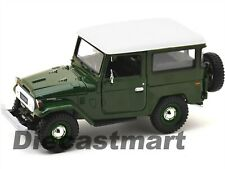 TOYOTA FJ40 FJ 40 LAND CRUISER GREEN 1:24 DIECAST MODEL CAR BY MOTORMAX 79323