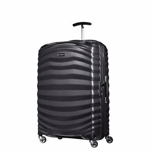 "NEW Samsonite Lite Shock 28"" BLACK Carry on Luggage 4-wheeled 80316-1041"