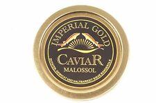 100g Imperial Gold Kaviar ( 100gr Caviar ) Malossol Auslese+ 1 Perlmutt-Löffel