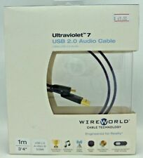 WireWorld Ultraviolet 7 USB 2.0 Digital audio cable 1 meter type A to miniB
