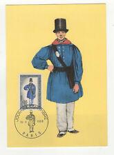 journée du timbre 1968 timbre France 1er jour FDC carte maximum /T2608