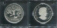 KANADA 2014 - 10 Dollars in Silber, PP - FUSSBALL WM BRASILIEN 2014
