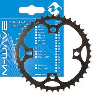 Kettenblatt für E-Bike mit Bosch Antrieb 1. u. 3. Gen. 46 Zähne,104 mm Lochkreis