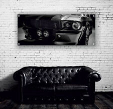 Ford Mustang Shelby GT500 Vinyl Banner Vinyl Print Poster Garage Workshop Sign